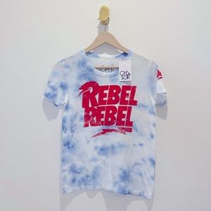 """NWT Chaser Bowie """"Rebel"""" Tee"""